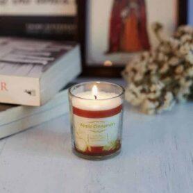 Apple Cinnamon Natural Wax votive Candle