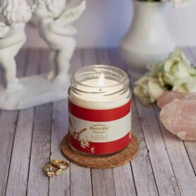 Marry Me! Natural Wax Medium Jar Candle?