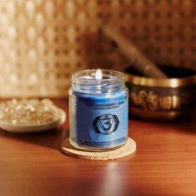 Meditation Candles – Third Eye Chakra Natural Wax Medium Jar Candle