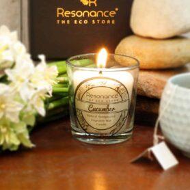 Cucumber Fragrance Natural Wax Aroma Votive