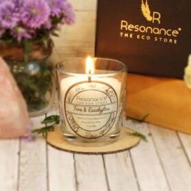 Fern & Eucalyptus Fragrance Natural Wax Aroma Votive