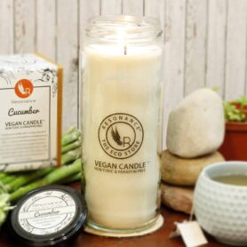 Cucumber Fragrance Natural Wax Aroma Large Torch