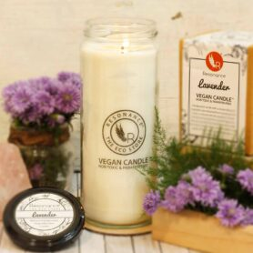 Lavender Fragrance Natural Wax Aroma Large Torch